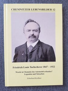 Friedrich Louis Tuchscherer 1847-1922, E. Kreßner, Verlag Heimatland Sachsen, Foto des Buches, Quelle Privat