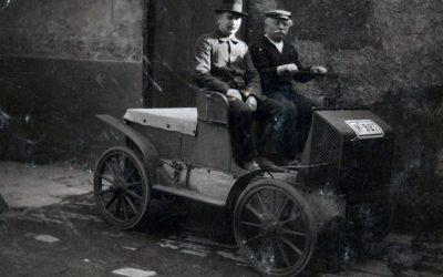 Louis Tuchscherer und seine Fahrzeuge