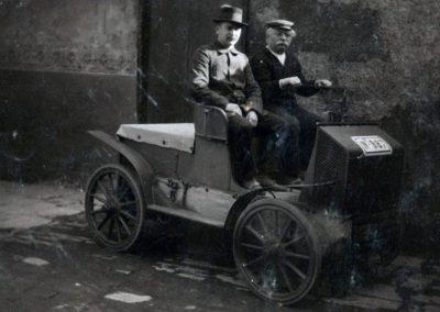 Louis Tuchscherer - sein zweiter Wagen Quelle:[6]
