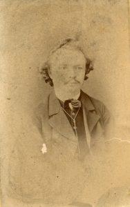 Lebenslauf, Louis Tuchscherer in jungen Jahren. Quelle: Schlossbergmuseum Chemnitz