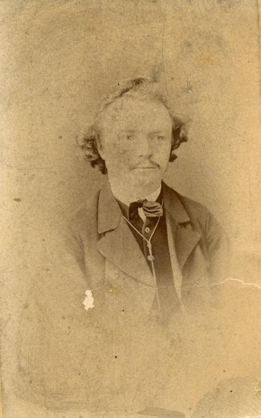 Louis Tuchscherer in jungen Jahren. Quelle: Schlossbergmuseum Chemnitz