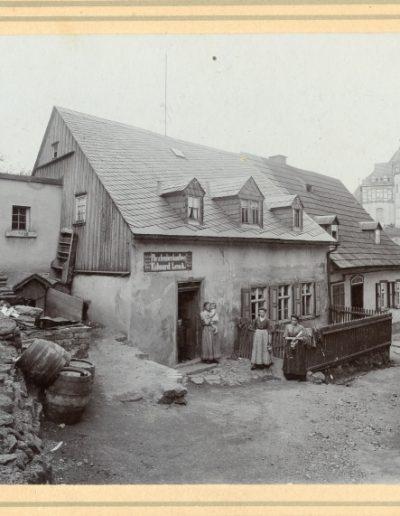 Geburtshaus in Schönheide. Quelle: Schlossbergmuseum Chemnitz