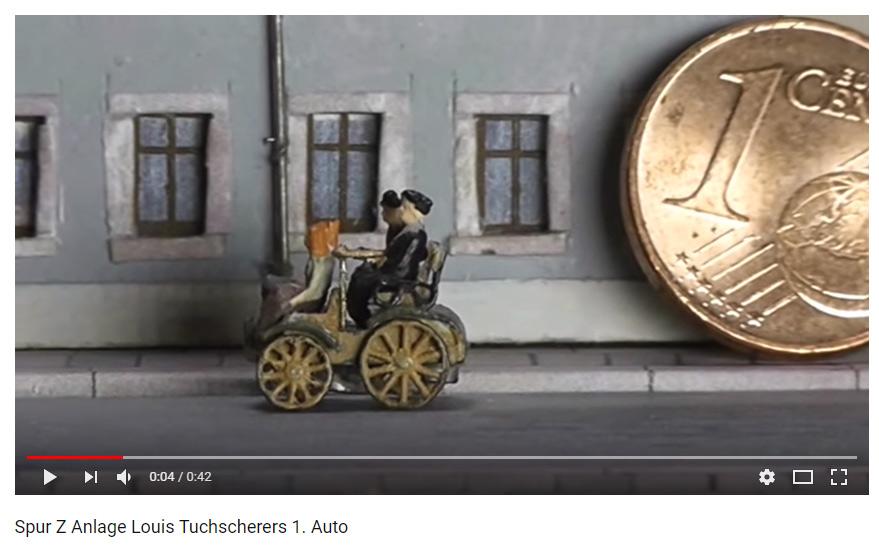 Louis Tuchscherer – sein erstes Auto